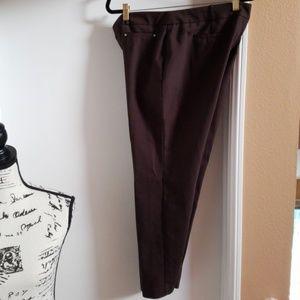 JM collection chocolate slacks preloved